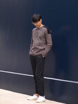 Shinichi.nextさんの「adidas Originals STAN SMITH(adidas|アディダス)」を使ったコーディネート