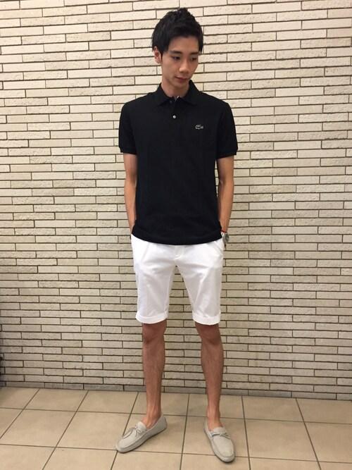 FUMIYAさんの「コットン 3Dワニ ポロシャツ