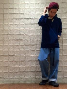 JUNRed 新宿ルミネエスト|YUKIさんの(CONVERSE|コンバース)を使ったコーディネート