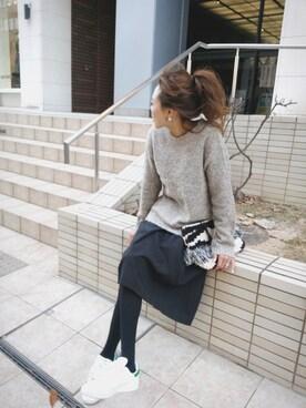 maiさんの「【adidas】WOMENS STAN SMITH B24364(adidas|アディダス)」を使ったコーディネート