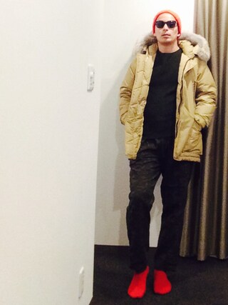 and9さんの「WOOLRICH/ウールリッチNEW ARCTIC PARKA(WOOLRICH|ウールリッチ)」を使ったコーディネート