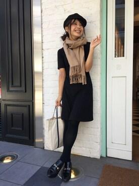 Casselini shop|杉本潤香さんの(ZARA)を使ったコーディネート