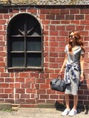 asukaさんの「【PLAIN CLOTHING】2WAYフラップハンドバッグ(PLAIN CLOTHING|プレーンクロージング)」を使ったコーディネート