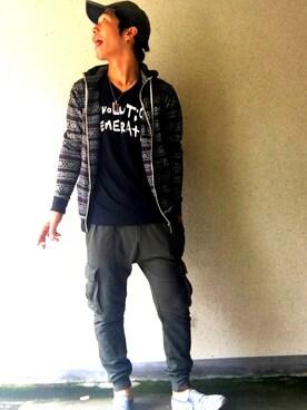 makotoさんの(GU|ジーユー)を使ったコーディネート