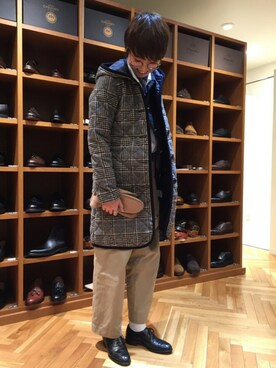 BRITISH MADE名古屋店|oyamaさんの(YAECA|ヤエカ)を使ったコーディネート