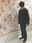 kazuki nakaさんの「RIDERS ORIGINAL TAPERED(Lee リー)」を使ったコーディネート