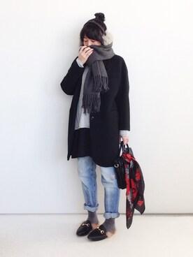 SACHIさんの「2WAY BAG(Sentore Amaranto|セントレ アマラント)」を使ったコーディネート