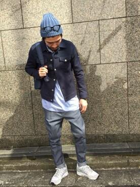 TATRAS&STRADA EST TOKYO|TAMさんの「RACAL(ラカル)ニットキャップ(STRADA EST)」を使ったコーディネート