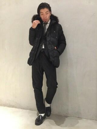 TATRAS&STRADA EST TOKYO|TAMさんの(TATRAS|タトラス)を使ったコーディネート