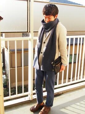 IDEA SEVENTH SENSE/TRAVEL SHOP MILESTO 本部|yusukeさんのクラッチバッグ「LAGOPUS マルチオーガナイザークラッチ(MILESTO|ミレスト)」を使ったコーディネート