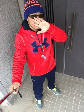 (UNDER ARMOUR) using this 加藤浩志 looks