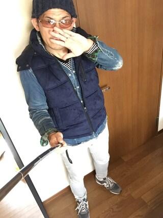 「ビーミング by ビームス / ラウンジイージーパンツ(PANTS...)」 using this 加藤浩志 looks