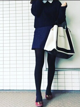 「Balenciaga Leather-Trimmed Canvas Tote(Balenciaga)」 using this misuzu looks