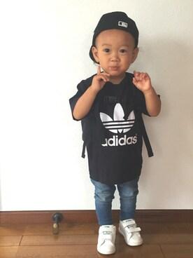 ☆Piii☆さんの(adidas|アディダス)を使ったコーディネート