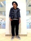 TOKYO-BAY collectiveさんの「メンズノンノ【MEN'S NON-NO】11月号 P127 野村周平さん着用商品 テーパードスラックスパンツ(セットアップパンツ)(UNION STATION|ユニオンステーション)」を使ったコーディネート