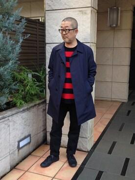 スタッフ|kazuo091さんの(nanamica|ナナミカ)を使ったコーディネート