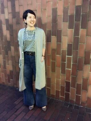 45R 池袋西武店|Miyauchiさんの(45R|フォーティファイブ・アール)を使ったコーディネート