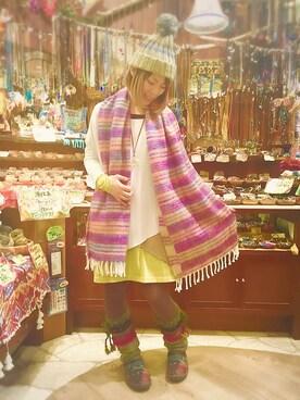 チャイハネ イクスピアリ店|Masumi Kaihoさんの(チャイハネ|チャイハネ)を使ったコーディネート