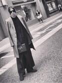 Shunsuke Wadaさんの「カバーチュールテディ(Ravijour|ラヴィジュール)」を使ったコーディネート
