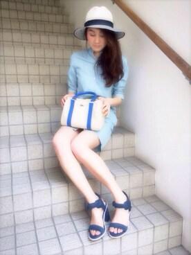 LACOSTE 京都店 asariさんの「LONELLE HEEL SANDAL 116 1(LACOSTE ラコステ)」を使ったコーディネート