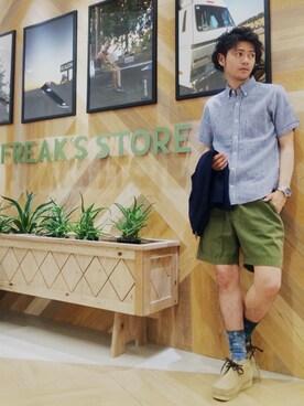 FREAKS STORE 岡山|Yuuki Kanenobuさんの(FREAK'S STORE|フリークスストア)を使ったコーディネート