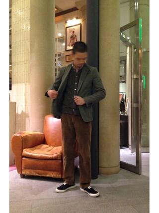 ユナイテッドアローズ 原宿本店 メンズ館|Masaru Hashimotoさんの(Sacai|サカイ)を使ったコーディネート