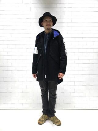 ユナイテッドアローズ 原宿本店 メンズ館|Masaru Hashimotoさんの(A.FOUR Labs|エーフォーラブ)を使ったコーディネート