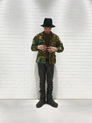 ユナイテッドアローズ 原宿本店 メンズ館|Masaru Hashimotoさんの(PHIGVEL|フィグベル)を使ったコーディネート