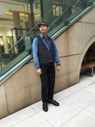 ユナイテッドアローズ 原宿本店 メンズ館|Masaru Hashimotoさんの(Levi's|リーバイス)を使ったコーディネート