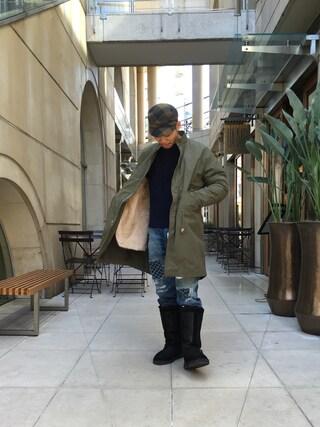 ユナイテッドアローズ 原宿本店 メンズ館|Masaru Hashimotoさんの(UNITED ARROWS & SONS|ユナイテッドアローズ アンド サンズ)を使ったコーディネート