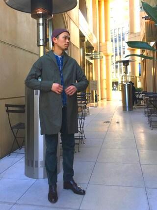 ユナイテッドアローズ 原宿本店 メンズ館|Masaru Hashimotoさんの(NEXUSVII|ネクサスセブン)を使ったコーディネート