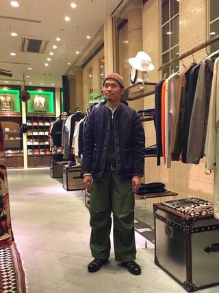 ユナイテッドアローズ 原宿本店 メンズ館|Masaru Hashimotoさんの「NVy by(ネイビー バイ) P/N LINER(NVy by|ネイビーバイ)」を使ったコーディネート