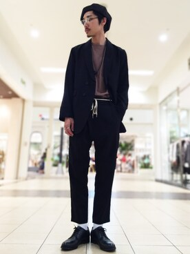 HAREららぽーとTOKYO-BAY店|斉藤 遼さんの「オーバーサイズテーラードジャコット(HARE)」を使ったコーディネート