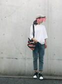 yurryさんの「オリジナルス スーパースタースリッポン[Superstar Slip On W](adidas|アディダス)」を使ったコーディネート