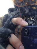 「Brixton Cutter Fingerless Glove(Brixton)」 using this Yuuta Wada looks