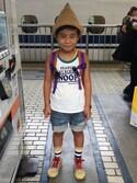 yu-riさんの「≪PEANUTS 2P≫ タンクトップ(BOOFOOWOO|ブーフーウー)」を使ったコーディネート