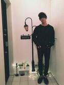 志村 禎雄さんの「フェアリーライト 40灯LED【niko and...】(niko and...|ニコアンド)」を使ったコーディネート