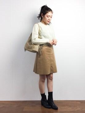 ZOZOTOWN|Ayaka.·˖*✩さんの「SHETLAND WOOL(MARGARET HOWELL)」を使ったコーディネート