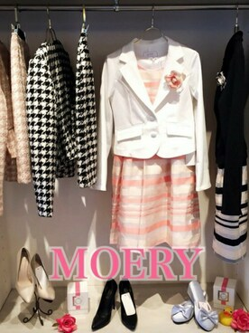 MOERY OFFICIAL ONLINE SHOP|MOERYさんの(MOERY|モエリー)を使ったコーディネート