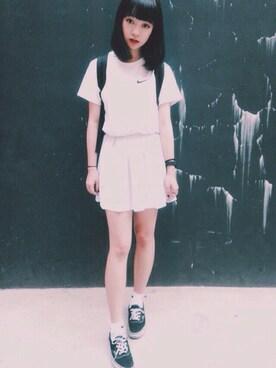 Serena Chenさんの(NIKE|ナイキ)を使ったコーディネート