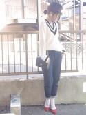 「セルビッチデニム×ばなっしー(Lulu)」 using this shiho looks