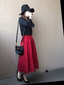 「MARC BY MARC JACOBS 'Classic Q - Percy' Crossbody Bag(Marc by Marc Jacobs)」 using this みかん looks