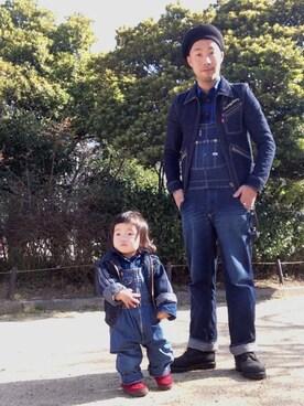 bayashiさんの(娘ちゃん、前過ぎ。)を使ったコーディネート