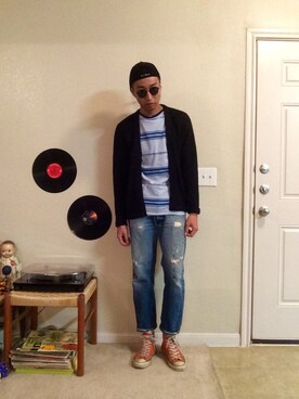 (converse USA 80s) using this Yuki Morioka looks