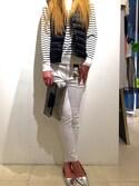 「Moncler Liane Puffer Vest, Black(Moncler)」 using this REGISTA Armadio  looks
