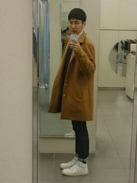 Seung Ill Jeongさんの(A.P.C.|アー・ペー・セー)を使ったコーディネート