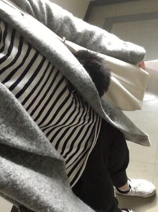 しほさんの「ヨーロピアンライトWチェスターコート【niko and ...】(niko and...|ニコアンド)」を使ったコーディネート