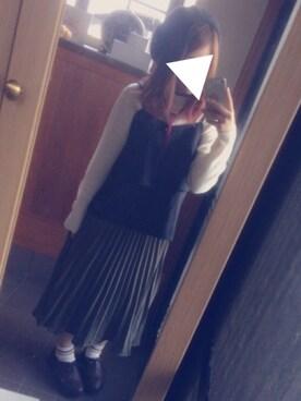 yuidonさんの(RETRO GIRL|レトロガール)を使ったコーディネート