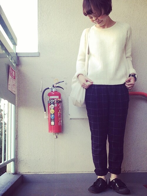 【通勤服】MUJI無印ウールシルク洗えるVネックセーターを購入!