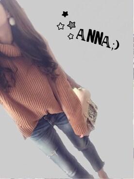 anna;)さんのコーディネート